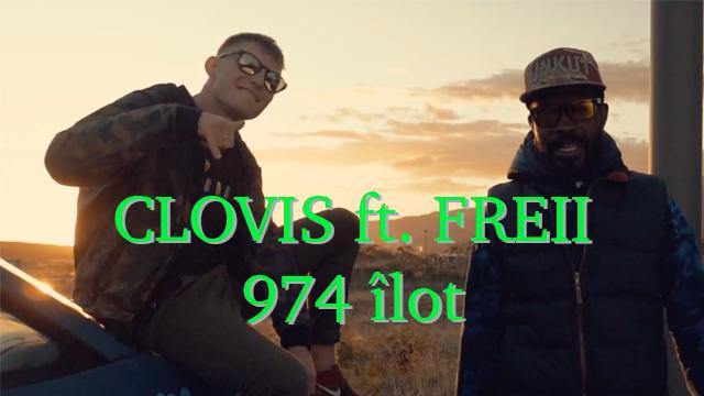 """Clovis et FREII ramène le Boom Bap avec """"974 îlot"""""""
