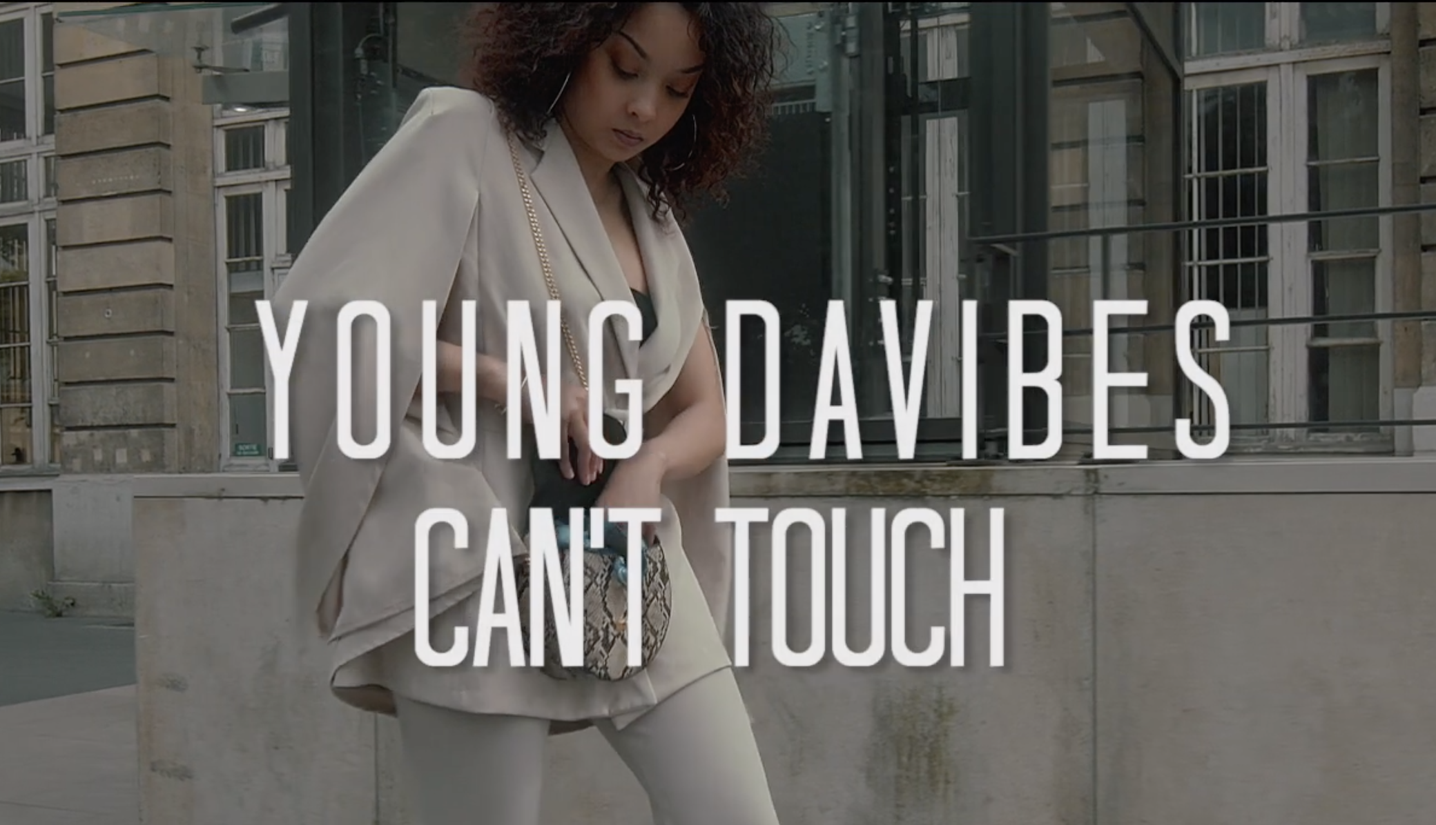 """Young Davibes fait wyner sur """"Can't Touch"""""""