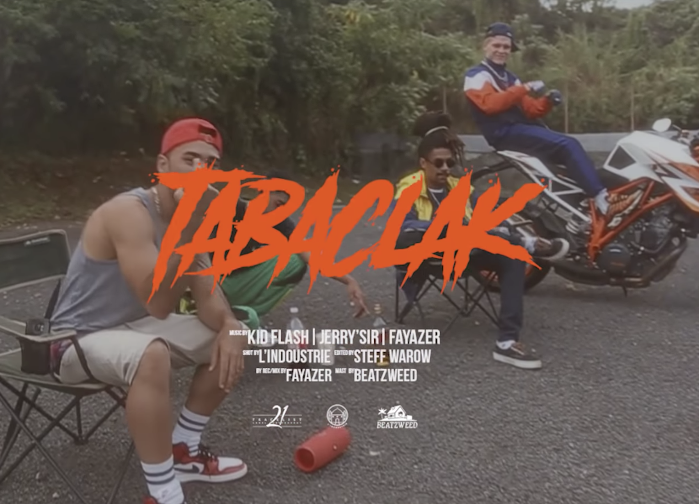 "Kid Flash invite Fayazer et JerrySir pour ""Tabaclack"""