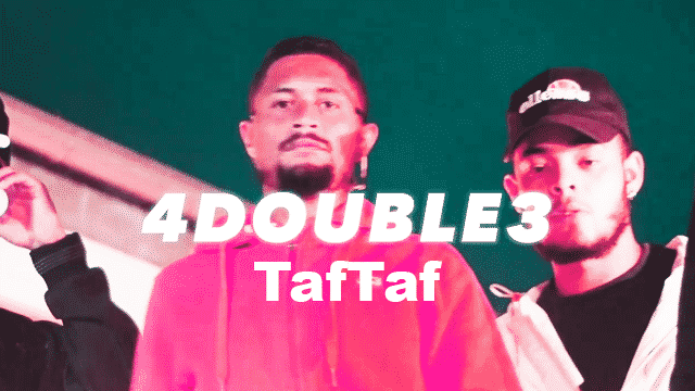 """KISAILE #6 : Le 4Double3 fait honneur au rap de Salazie avec """"TafTaf"""""""