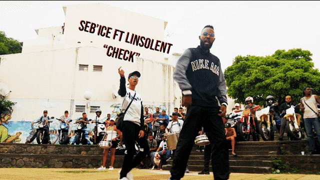 """SEB'ICE collabore avec LINSOLENT sur """"Check"""""""