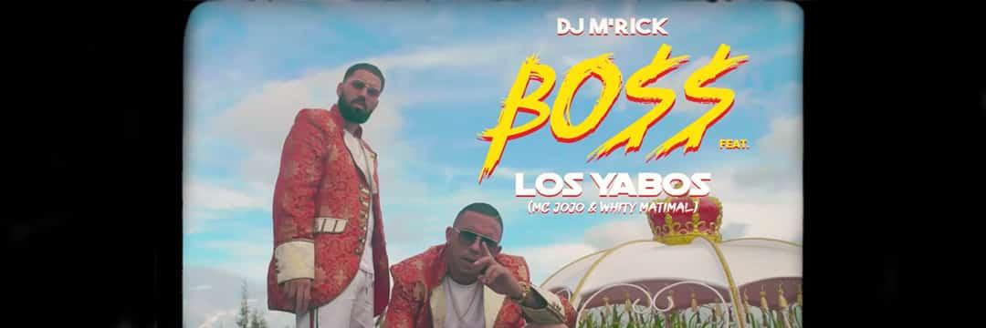 """DJ M'RICK et LOS YABOS sont les """"BOSS"""" de la soirée"""