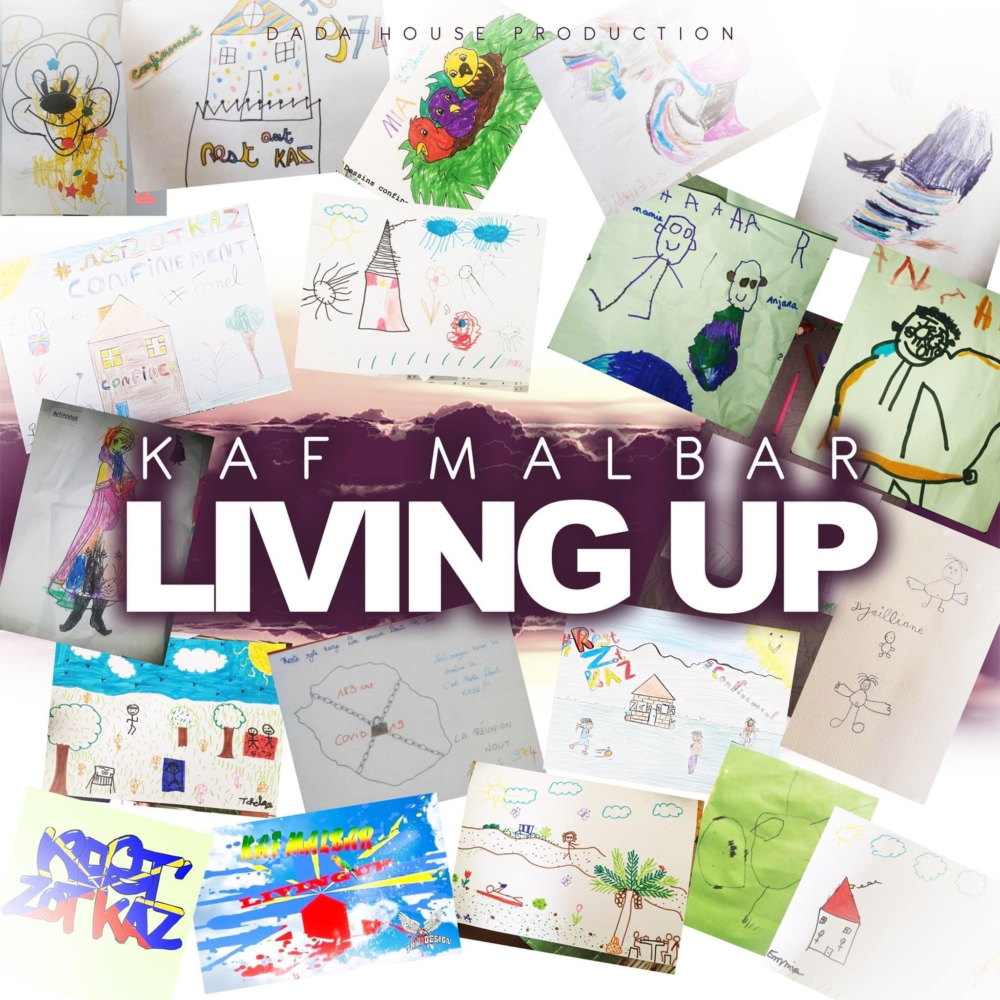 Living Up : le nouveau son très positif de Kaf Malbar