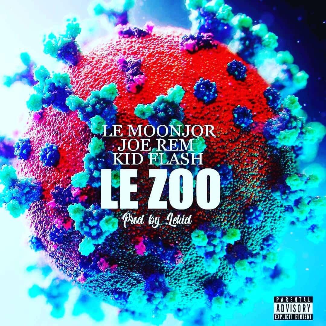 """Le Moonjor, Joe Rem et Kid Flash produisent """"Le Zoo"""" dans une Opel Corsa"""