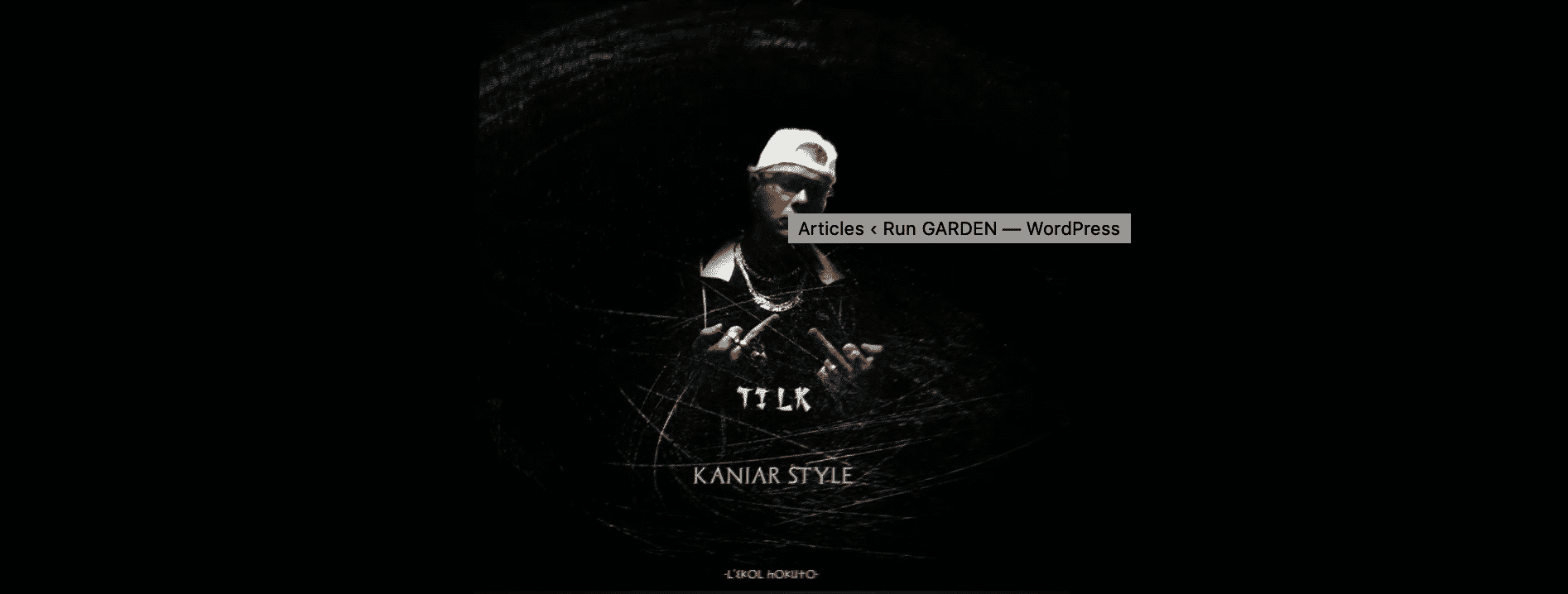 "Ti LK fait de la Trap sur ""Kaniar Style"""