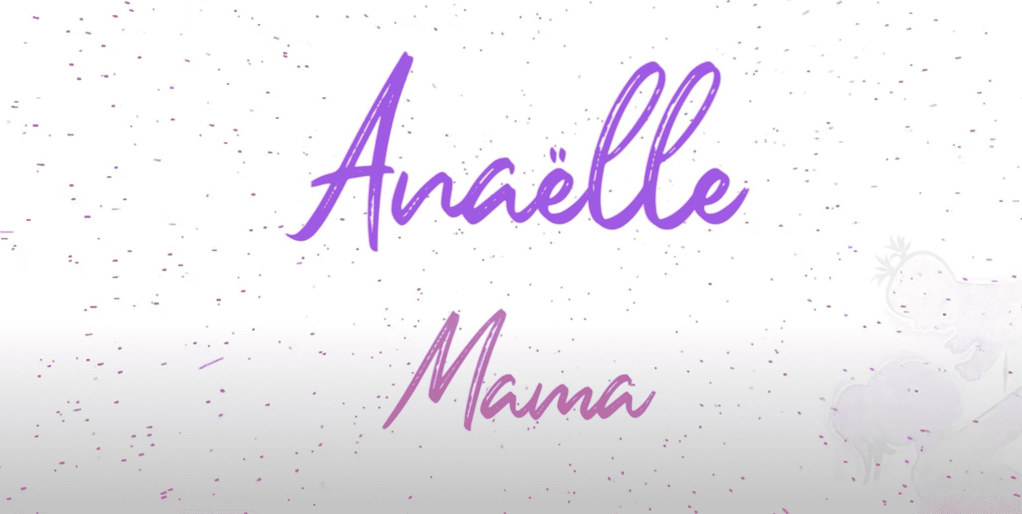 "ANAËLLE dévoile sa nouvelle perle musicale ""Mama"""