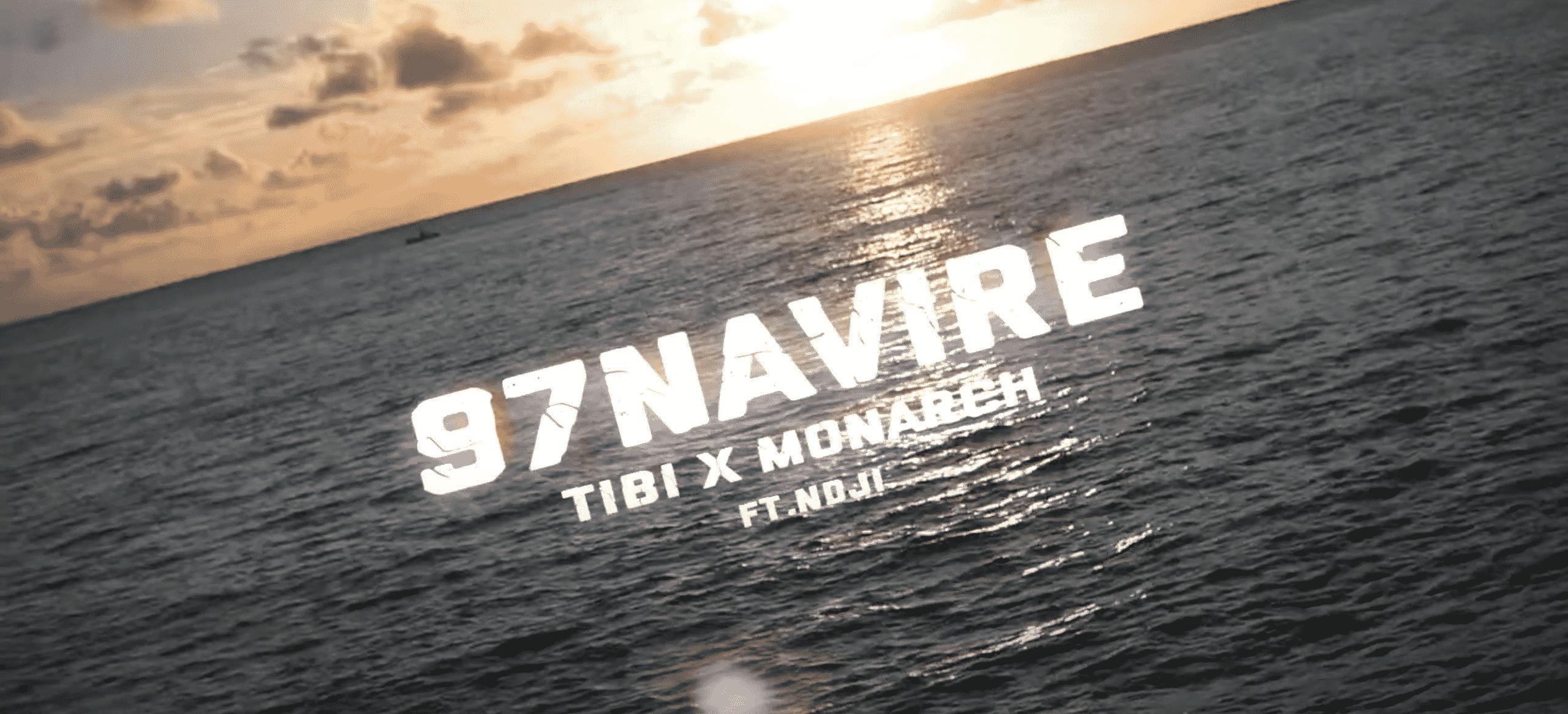 """Tibi et N'dji donne des leçons de  kickage sur """"97 Navire"""""""