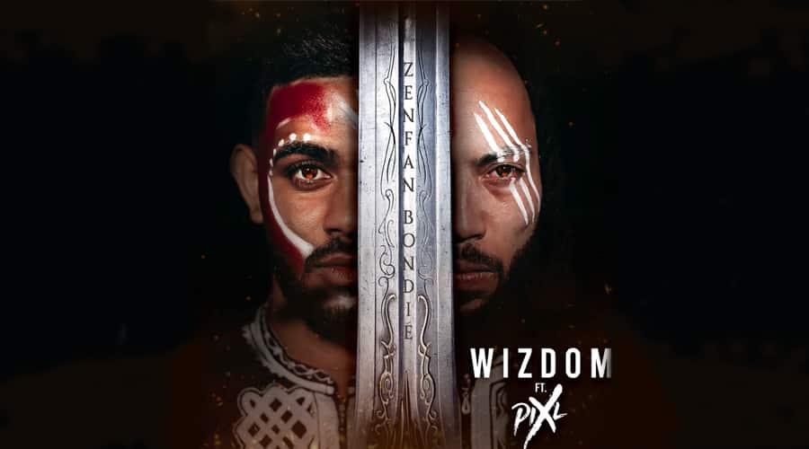 Zenfan Bondié, la collaboration inédite de Wizdom et Pix'l