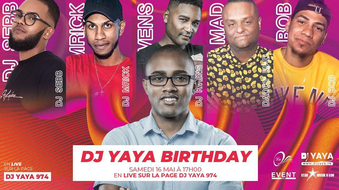 Dj Yaya va célébrer son anniversaire en live