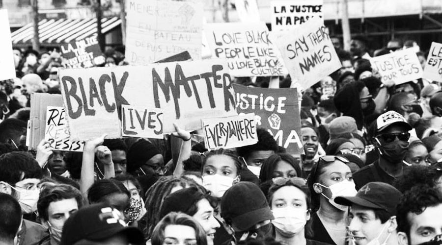 Les suffocations de George Floyd sous le genou de la violence policière et de la haine raciale