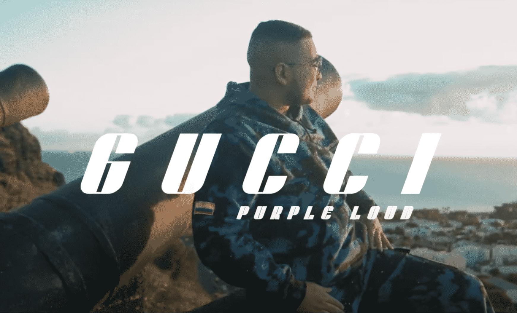 """Purple Loud est de retour et il livre """"Gucci"""""""