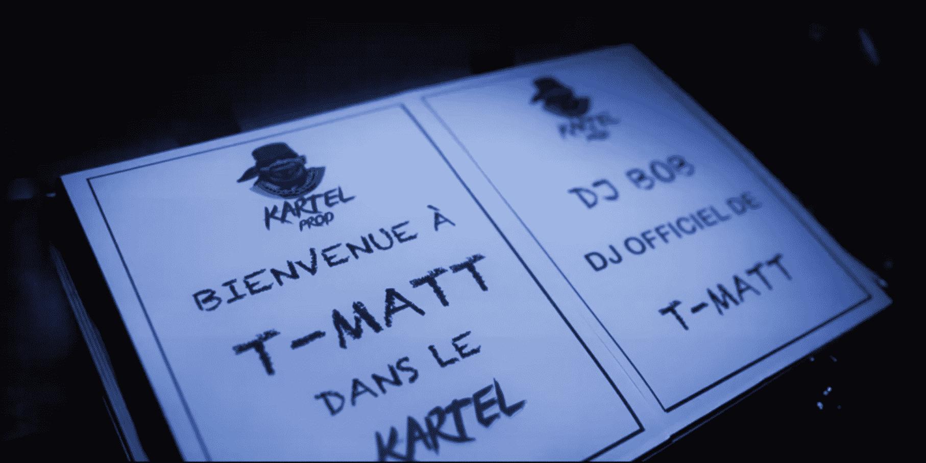Kartel Prod intègre T Matt et fait de Dj Bob, son Dj officiel