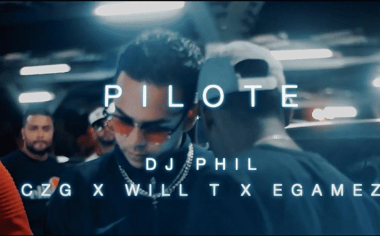 """Dj Phil, CZG, Will T et Egamez s'unissent pour produire """"Pilote"""""""