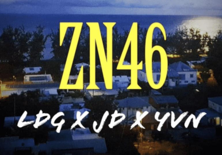 """LDG, EJD et YVN mettent le rap de Saint-Leu en l'air avec """"ZN46"""""""