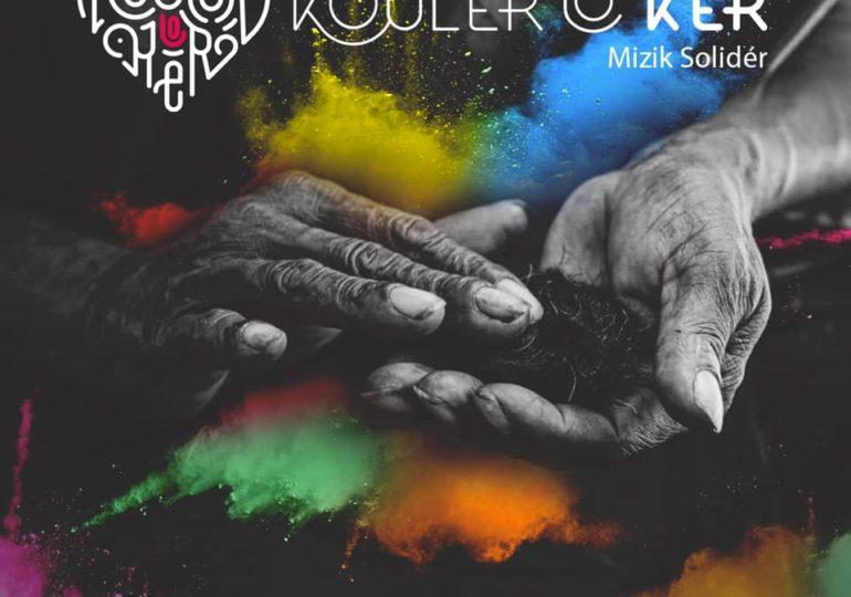 """L'association Koulèr Lo Kèr dévoile un album """"Musique Solidaire"""" pour ses 2 ans"""