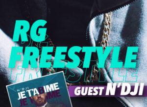 "RG Freestyle en Live – Avec N'dji pour la sortie de ""Je t'abime"""